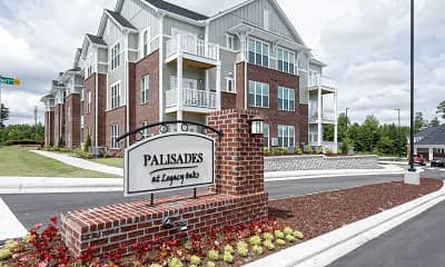 Community Signage, Palisades At Legacy Oaks, 2