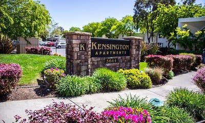 Community Signage, Kensington, 2