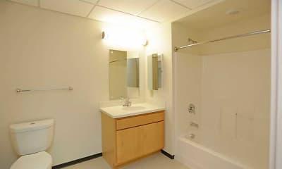 Bathroom, The Rose, 2