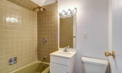 Bathroom, Crystal Village, 2