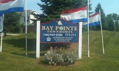 Community Signage, Bay Pointe Townhomes, 2
