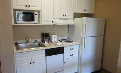 Kitchen, Furnished Studio - Boston - Woburn, 1