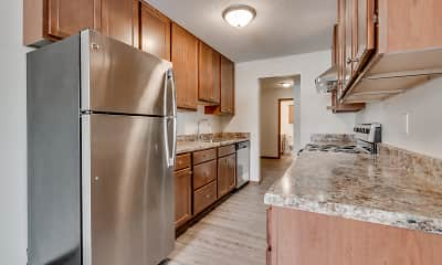 Kitchen, Stanley Terrace Apartments, 0