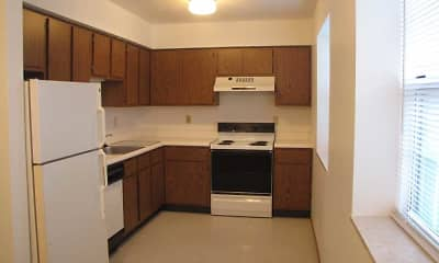 Kitchen, Laurel Hills Apartments, 2