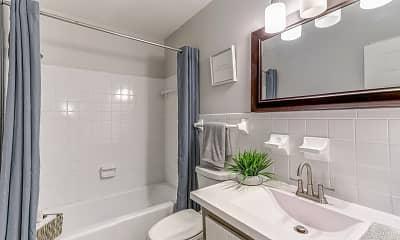 Bathroom, The Vale Nashville, 2