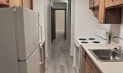 Kitchen, Edgemont Apartments, 1