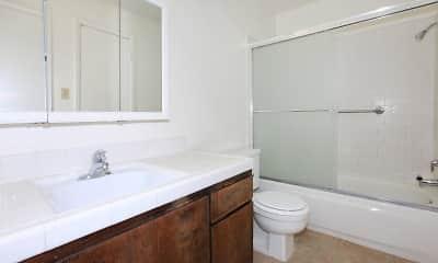 Bathroom, Stine Country Apartments, 2