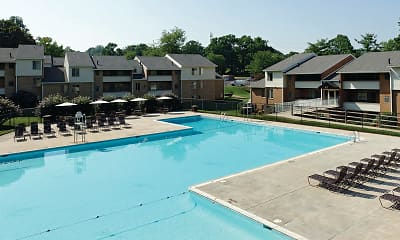 Pool, The Apartments at Saddle Brooke, 0