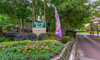 Community Signage, North Bluff Apartments, 2