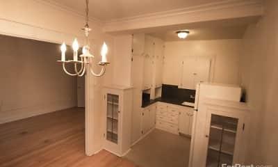 Kitchen, Union Arms, 1