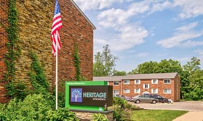 Community Signage, Heritage Apartments, 2