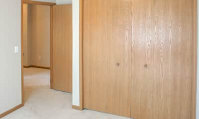 Bedroom, Osgood Townsite Apartments and Townhomes, 2