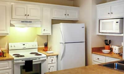 Kitchen, Gatewood Apartments, 2
