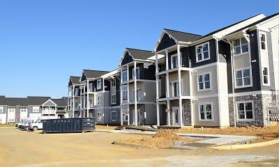 Building, Market Square Apartments, 2