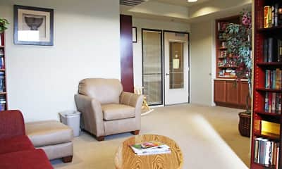 Living Room, The Willows at Wells Senior Community, 1