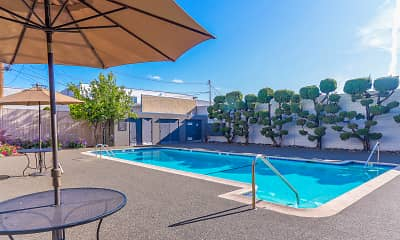 Pool, 3655 Colegrove Apartments, 0