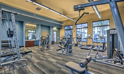 Fitness Weight Room, The Vineyards At Paseo Del Sol, 2