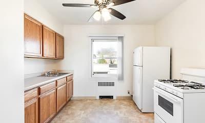 Kitchen, Lexington Park Apartments, 2