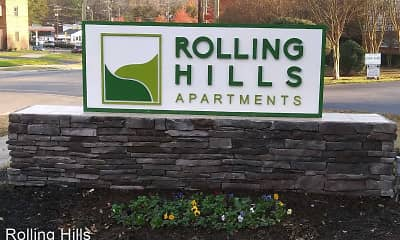 Community Signage, Rolling Hills, 0