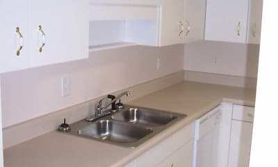 Kitchen, The Woodlands: Apartment Home Community, 2