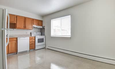 Kitchen, Sleeping Giant Apartments, 1