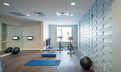 Fitness Weight Room, 1000 S Broadway Apartments, 0