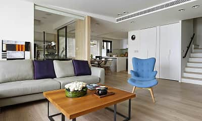 Living Room, Apartments at Plano West, 0