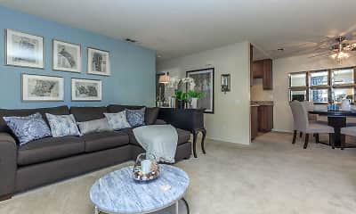 Living Room, Creekside Meadows Apartments, 2