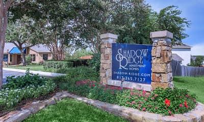 Community Signage, Shadow Ridge, 2