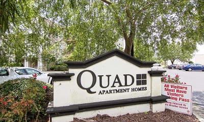 Community Signage, Quad, 2