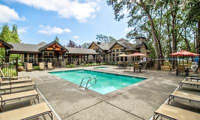Pool, Echelon Apartments, 0