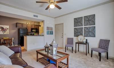 Living Room, Oak Hollow, 2