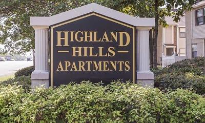 Community Signage, Highland Hills, 2