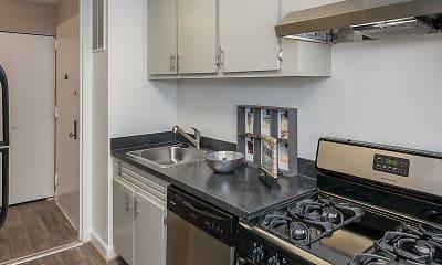 Kitchen, The Lafayette, 2