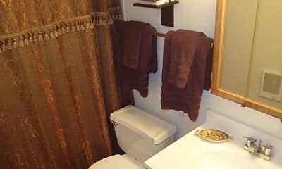 Bathroom, West Jefferson Apartments, 2