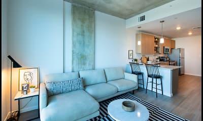 Living Room, The Julian, 1