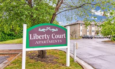 Community Signage, Liberty Court, 2