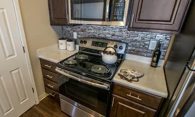 Kitchen, Pinecone Apartments, 1