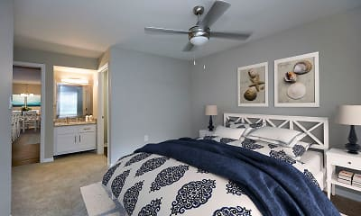 Bedroom, Bayside Arbors of Clearwater, 1