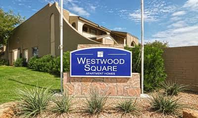 Community Signage, Westwood Square, 2