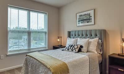 Bedroom, Crossroads Station Apartments, 2