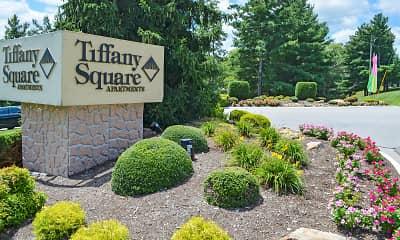 Community Signage, Tiffany Square Apartments, 2