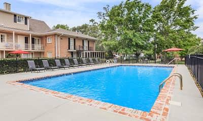 Pool, Manor House Apts, 1