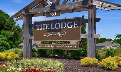 Community Signage, Lodge at Johns Road, 2