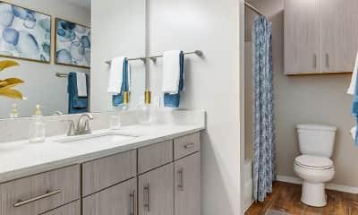 Bathroom, Parkwest, 2