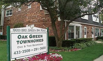 Community Signage, Oak Green Townhomes, 0