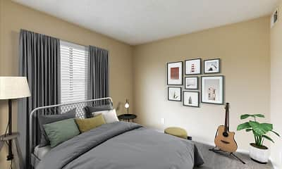 Bedroom, Casa Valley Apartments, 2