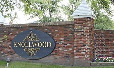 Community Signage, Knollwood Village Apartments, 2