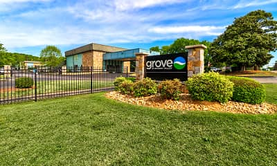Community Signage, The Grove at Hickory Valley, 2