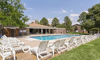 Pool, Pine Creek Apartments, 0